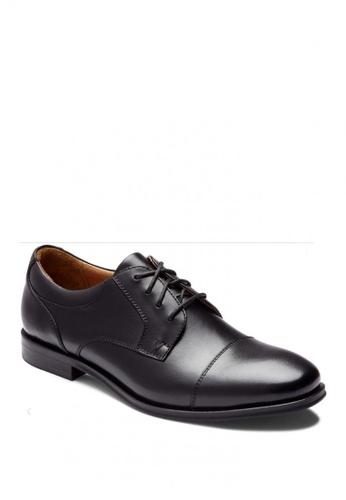 Vionic black Spruce Shane Oxford Men's Dress Casual 6F4D2SH15D1FB8GS_1