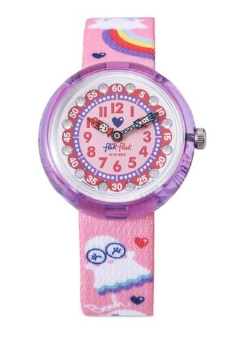Flik Flak pink Spooky Watch 6A42AKC7D9B593GS_1