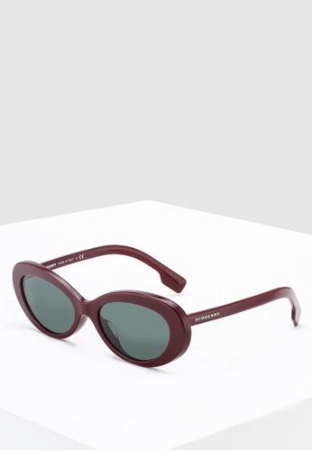 da71fd1a42d2 Shop Burberry Burberry BE4278F Sunglasses Online on ZALORA Philippines