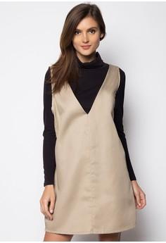 Candice V Jumper Dress