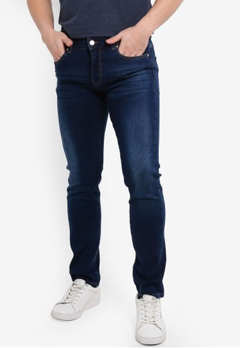 Electro Denim Lab blue Calypso Slim Tapered Jeans AF86CAA5223AB2GS_1