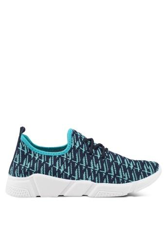 Nose blue Casual Sneakers 2AC81SH28E16F4GS_1