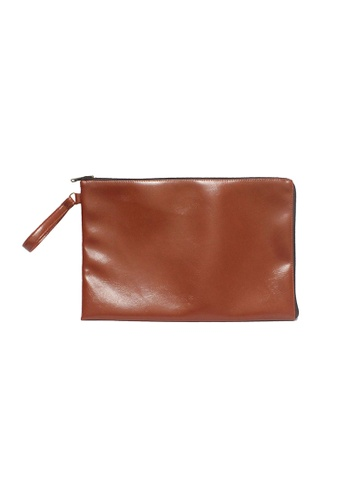"Knocks brown 13"" Abner Laptop Case (Chestnut) KN307AC19WYQSG_1"
