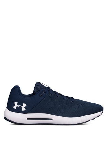 Under Armour navy UA Micro G Pursuit Running Shoes 8B998SHCDE8340GS_1