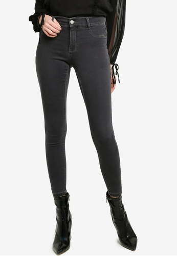 Dorothy Perkins grey Charcoal Frankie Jeans 17089AAFB11845GS_1