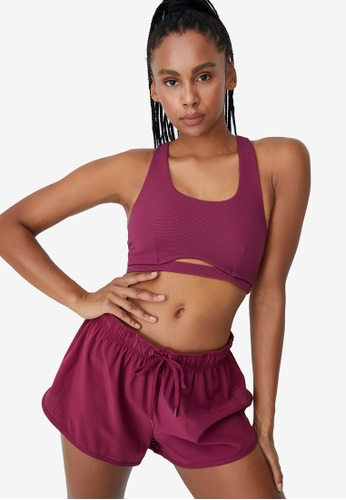 Cotton On Body pink Rib Scoop Crop Sports Bra 811BBUSEFFE99AGS_1
