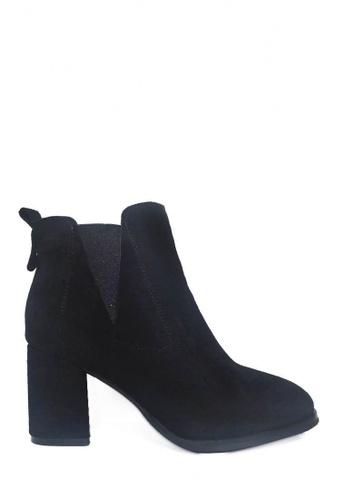 Twenty Eight Shoes black Sheep Suede High Heels Chelsea Boots VB999 CF081SHEAB6435GS_1
