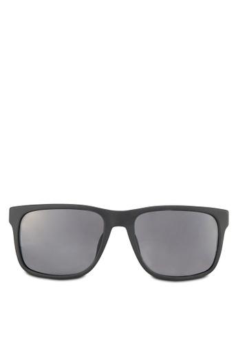 27c2540d2ec Emporio Armani black Essential Leisure EA4071F Polarized Sunglasses  EM212GL79SPCMY 1