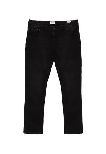!Solid black Joy Slim Fit Jeans 260 5DC39AAE26BA38GS_1