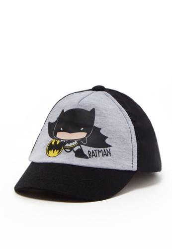 OVS black DC's Superman Cotton Baseball Cap 06460KC6E34061GS_1