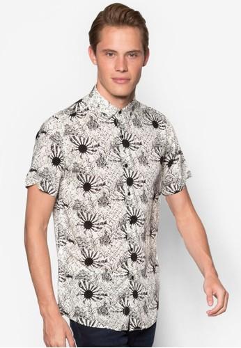 太陽印花esprit tst短袖襯衫, 服飾, 服飾