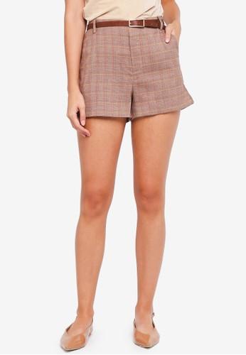 ESPRIT brown Woven Shorts 2C669AA63DA205GS_1
