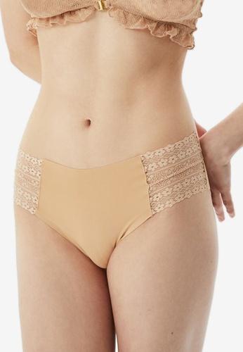 Trendyol beige Lace Side Panties 12871USD205819GS_1