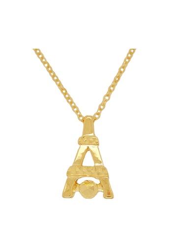 LITZ gold LITZ 916 (22K) Gold Necklace GC093 35E75AC13AE7F3GS_1