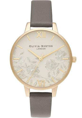 Olivia Burton grey Olivia Burton Lace Detail LONDON GREY Women's Watch (OB16MV98) BE0FFAC8D65822GS_1