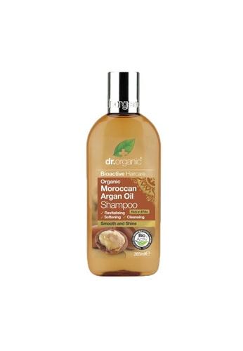 Holland & Barrett Dr Organic Moroccan Argan Oil Shampoo 265ml 75F4AESE1845C3GS_1
