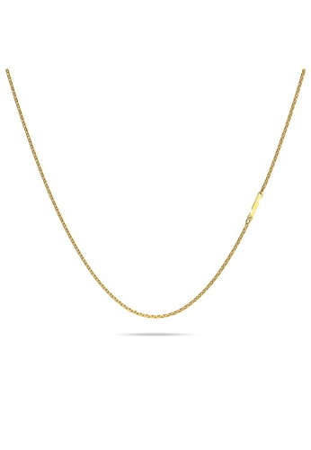 Bullion Gold gold BULLION GOLD Bold Alphabet Letter Initial Charm Necklace in Gold Tone - I 8EE23AC9BF47E6GS_1