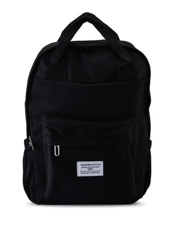 Keddo black Sabra Backpack 56C87ACA7C2C55GS_1