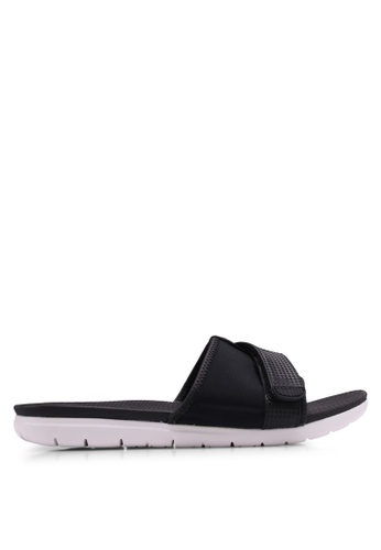 6aa49a4a3709 FitFlop black Neoflex Slide Sandals 011ADSH6B57E71GS 1