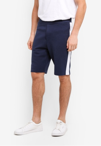 Jack Wills navy Wickford Colour Block Shorts 24377AA86AF930GS_1