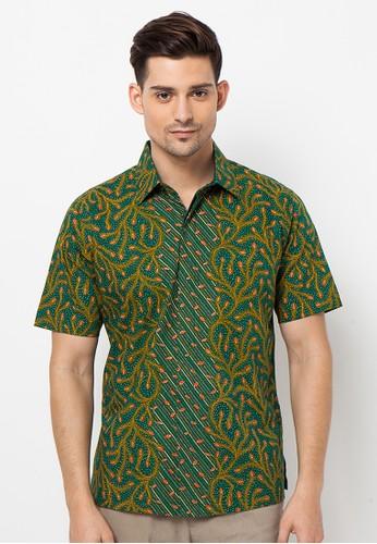 ASANA Peacock Short Sleeves Green