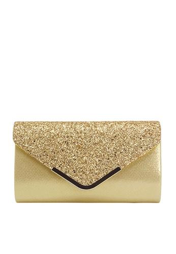 Twenty Eight Shoes gold VANSA Sequins Bi-Fold Party Bag VBW-Ps679 181A6ACA8C1A8CGS_1