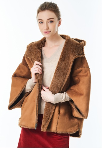 United Colors of Benetton brown Reversible Sheepskin Jacket. 39D55AAB67A5E6GS_1
