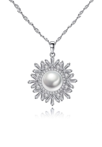 A.Excellence white Premium White Pearl Elegant Necklace 8BE28ACAA689B0GS_1