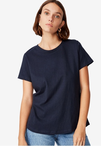 Cotton On blue The One Crew Tee 5A7B1AABFCD5ACGS_1