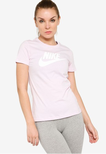 Nike pink Women's Essential Short Sleeves T-Shirt 45CA8AAD39E468GS_1