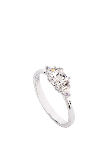 606e8933f Jual Swarovski Attract Trilogy Ring Original | ZALORA Indonesia ®