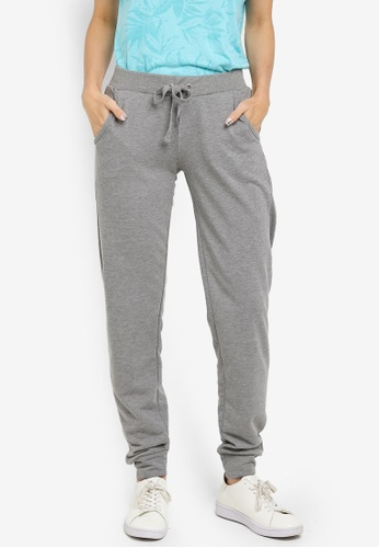 LC Waikiki grey Medium Grey Melange Standard Trousers 567FDAA6DF7BA0GS_1