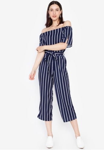 Get Laud blue and navy Liliana Sexy Jumpsuit 01567AA685D854GS_1