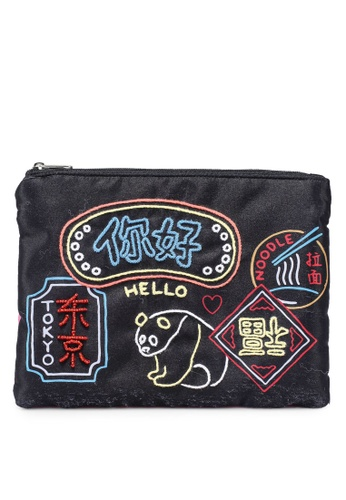 niko and ... black Casual Pouch 022BDAC992C753GS_1