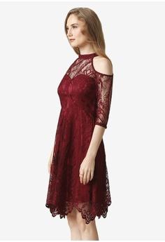 1cd1fe3358a5 KARIMADON red Charlotte Dress 41AFBAAB9DCED8GS_1