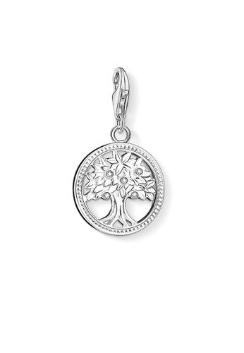 """THOMAS SABO silver Charm pendant """"tree"""" 02AEFAC80EFB94GS_1"""