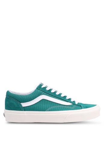 VANS green Style 36 Retro Sport Sneakers 6B2E2SHEE07A07GS_1