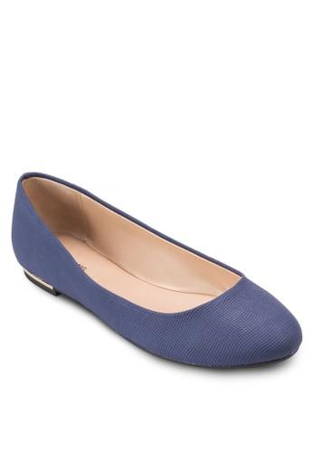 Fibocchi 金esprit tote bag飾平底鞋, 女鞋, 鞋