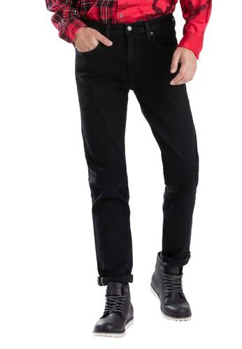 Levi's black Levi's 512 Slim Taper Fit Red Zip Selvedge 28833-0369 CB48EAA273CB52GS_1