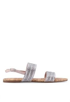 75450b2892f7 Dorothy Perkins silver Silver Funk Embellished Sandals 70517SHEA94D93GS 1
