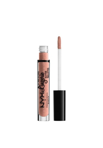 NYX Professional Makeup beige NYX Professional Makeup Lip Lingerie Glitter - LLGLI02 SHY 8786ABE14BBD84GS_1