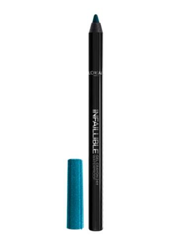 L'Oréal Paris blue L'Oreal Paris Infallible Gel Crayon Eyeliner - 117 True Teal 8C5E3BEFC19771GS_1