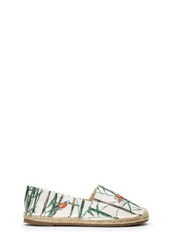 SEMBONIA white SEMBONIA Canvas Espadrille Shoe (White) 7092BSHCFB5FAFGS_1