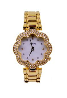Japan Design 18K Gold Plating Chain Watch