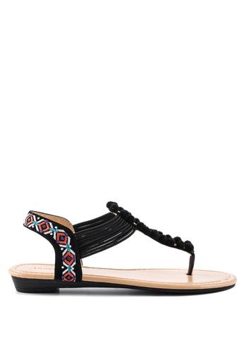 London Rag 黑色 London Rag 女士夏季平底凉鞋 594ADSH2959115GS_1