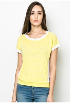 X Color Short-sleeves Tee