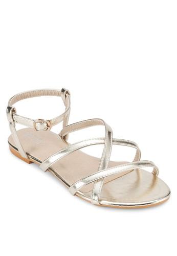 SHANNON 多帶平底涼鞋、 女鞋、 鞋VelvetSHANNON多帶平底涼鞋最新折價