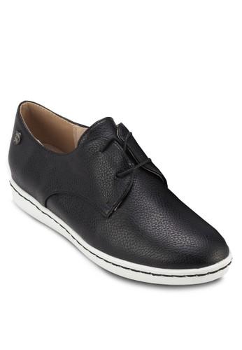 繫帶仿皮休閒鞋,esprit outlet hk 女鞋, 鞋