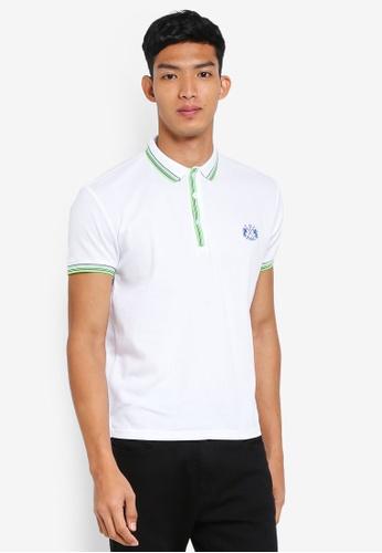 Fidelio 白色 簡約短袖POLO衫 E178FAA022B19BGS_1