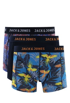 4290d89ee4 Jack & Jones navy Parrot Flamboyant 3-Pack Trunks D65C0US12E80BDGS_1